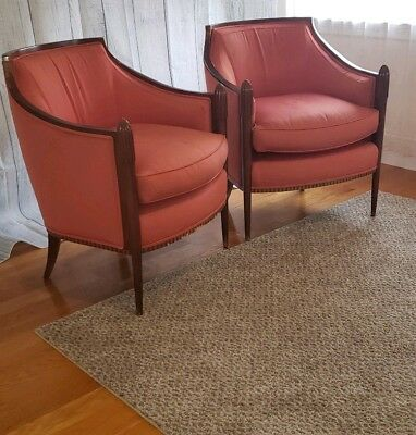 Baker Manafactuer lounge Club Chairs