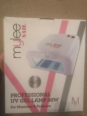 Mylee Nail Professional UV Gel Lamp 36W for Manicure & Pedicure