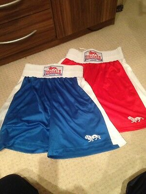 Boxing Shorts, Londsdale London 2 Pairs Medium Hardly Worn