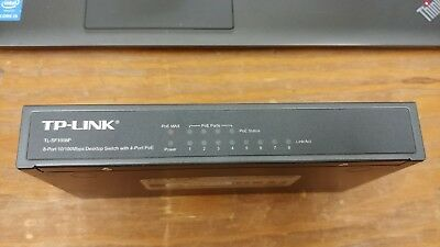 TP-LINK TL-SF1008P Desktop 10/100Mbps 8-Port PoE Switch 4 PoE Ports | RNW3161