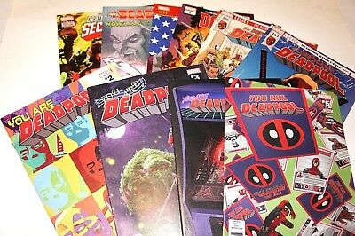 Deadpool Mixed Lot X10 Issues