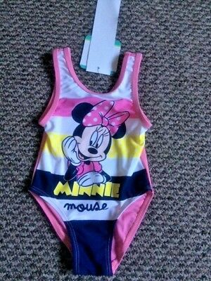Baby Girls Swimming Swim Costume Age 12 Months - New with Tags!!!