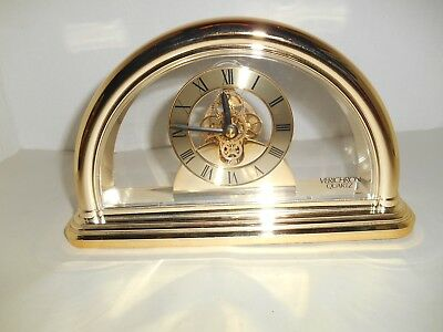 Harris & Mallow Verichron Quartz Mantle Desk Clock Japan
