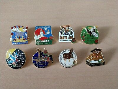 Tournament of Rose Parade City of Hope -Sunkist - Clydesdales- Santa Ana Pins