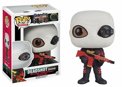 Suicide Squad Funko Pop Movies Vinyl Figure Deadshot (Masked)