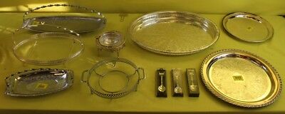 Job Lot of Silver Plated Items #OAFWH03EJ