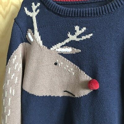 Joules Boys Christmas Jumper In Size 7-8yrs