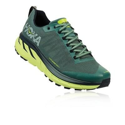 Hoka One One Mens Challenger ATR 4 Trail Off Road Running Shoes Green