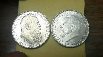 1911d 1914d GERMANY SILVER 2 MARKS*** GEM UNCIRCULATED