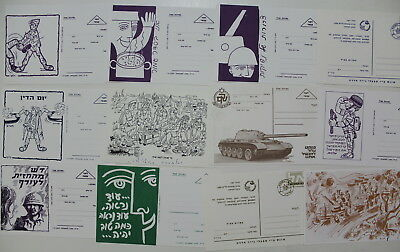 Israel, Dosh, Collection of 25 Military Postcard #273
