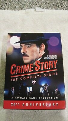 Crime Story The Complete Series DVD Set