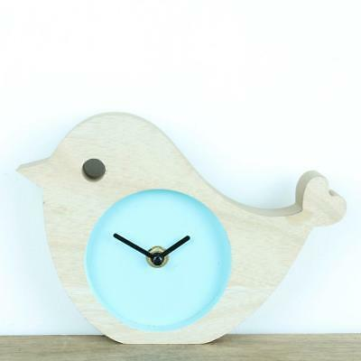 Wooden Childrens Kids Bird Clock Bedroom Gift Clocks Children's Hall Animal
