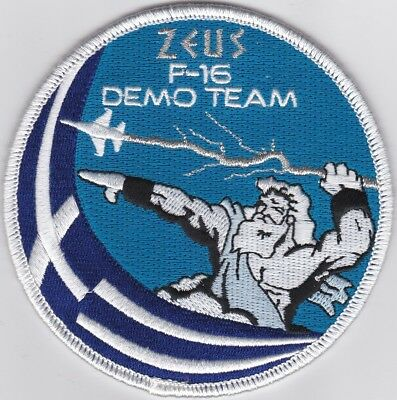 Patch Hellenic Air Force F-16 C/D Block 52+ Fighting Falcon Solo Display Team