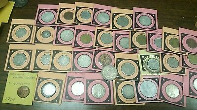 LOT OF OLD GERMANY MARKS & PFENNIGS**** Inc. SILVER