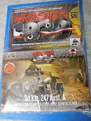 1:72 First to Fight 059 Sd.Kfz 247 Ausf.A, Armoured Command Car, mit Begleitheft