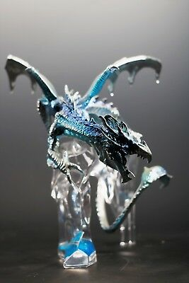 Franklin Mint Michael Whelan Dragon Fantasy Art Sculpture Guardian Of Icy Realm