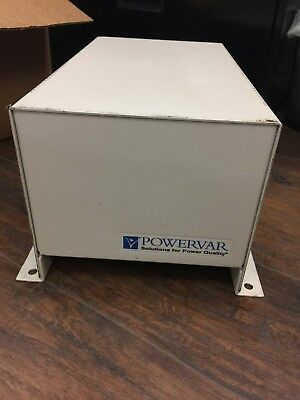 Used - Powervar Abc5000-2S  95208-60 Single Phase Power Conditioner