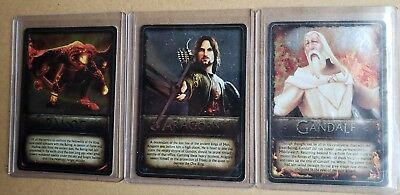 Lord of the Rings ARAGORN'S QUEST Foil Cards Balrog Gandalf Aragorn GamesRadar