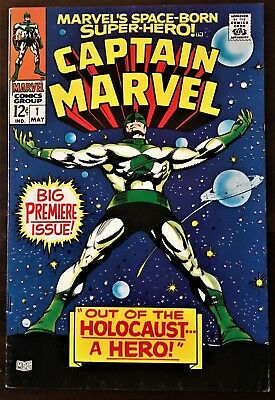 Captain Marvel #1 (1968 1St Series )