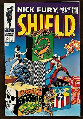 Nick Fury Agent Of Shield #1 (1968 1St Series )