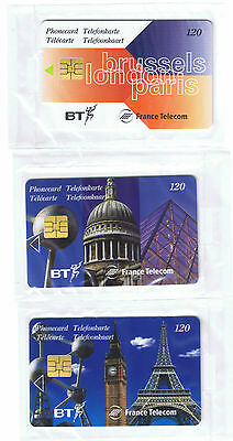Eurostar BT- France Telecom & Belgacom. EUR005 120 units Brussels - London -