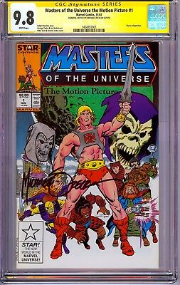 Masters of the Universe #1 CGC 9.8 SS Signed & Skelator Sketch by Mike Zeck!