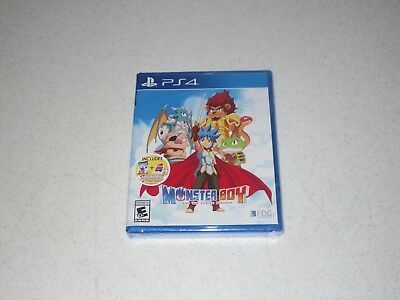 Monster Boy And The Cursed Kingdom Launch Edition Playstation 4 Sealed