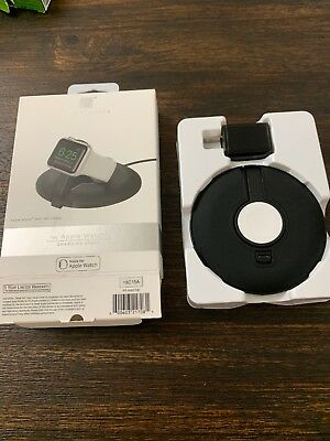 GENUINE Platinum- Charging Stand for Apple Watch Black 18C15A NEW!