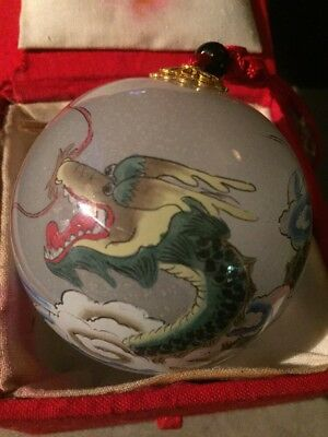 Hand Painted Ornamint ( Dragon ) Willitts Designs