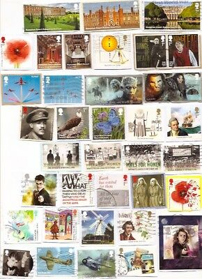 GB 2017/18 Commems only including rare issues from M/S and high values etc!