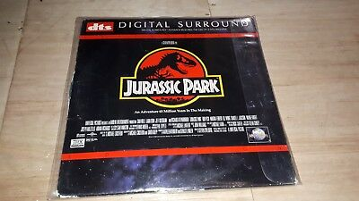 Jurassic Park DTS Laser Disc, four DTS titles joblot deal inc. The rock bundle.