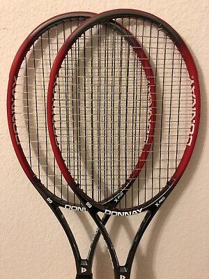 One (1) Donnay XeneCore X-Red 99 tennis racket 4 3/8 Excellent Shape