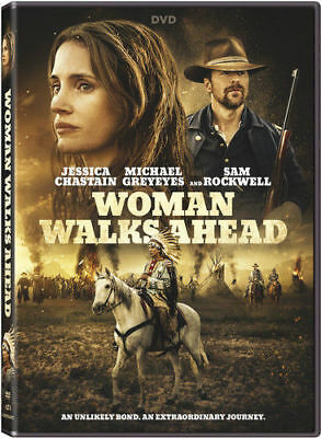 Woman Walks Ahead Native Americans Jessica Chastain Used Very Good Dvd