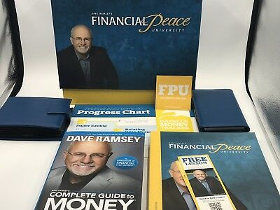2012 Dave Ramsey Financial Peace University Home Study Kit - Books CDs DVDs