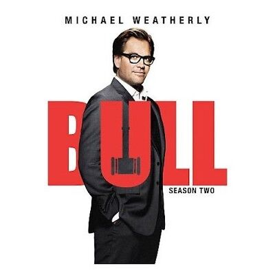 Bull: Season Two 2 (DVD, 2018) 6 Disc Set New & Sealed Free Shipping Included!