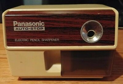 Vintage Panasonic KP-110 Auto Stop Electric Pencil Sharpener