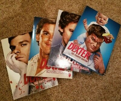 Dexter Season 1-4 DVD/Includes cases