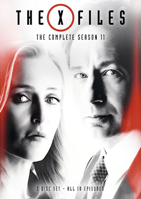 The X-Files: Complete Eleventh Season 11 (2018 3-Disc Set DVD) New & Sealed