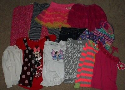 girl's: Size 6/6 X Mixed Clothing *BRAND NAMES*  (13 pieces) NEW & EXCELLENT