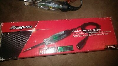 Snap on tools EECT400 Digital LCD Circuit Tester