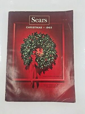 SEARS, ROEBUCK AND CO.  CATALOG Christmas 1963