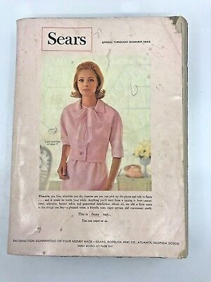 SEARS, ROEBUCK AND CO.  CATALOG Spring Through Summer 1965