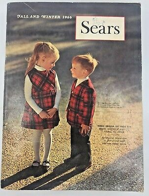 SEARS, ROEBUCK AND CO. CATALOG Fall And Winter 1966