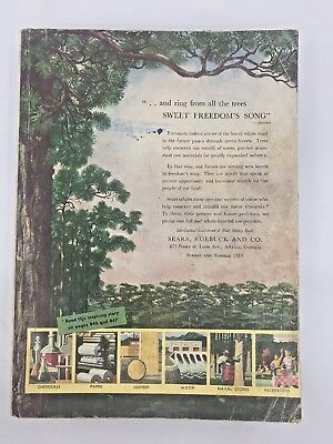 SEARS, ROEBUCK AND CO. SPRING AND SUMMER 1954 Sweet Freedom's Song