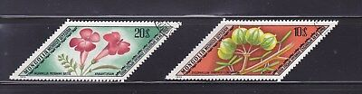 "MONGOLIA 1975 nice lot of 2 ""Plants"" used Sc #834-35 (009)"