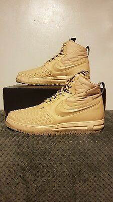 uk availability a794d aac22 Nike Lunar Force 1 Duckboot  17 - UK Size 13 - 916682 201 - Linen