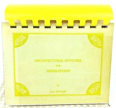 Architectural Stitches Needle Point By June McKnight Quick Reference Flip Book