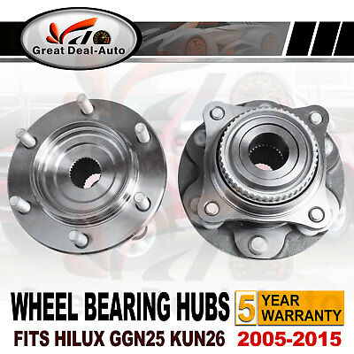 Hilux Front Wheel Bearing Hubs Hub fits Toyota GGN25 KUN26 05-15 PREMIUM QUALITY