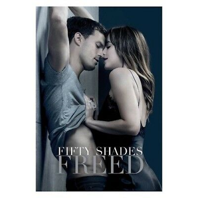Fifty Shades Freed (DVD, 2018) New & Sealed Unrated comes with Slipcover