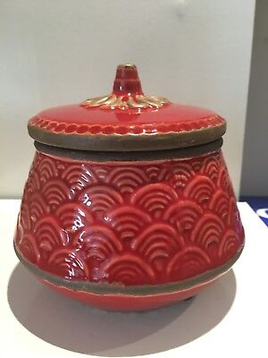 Ceramic Cookie jar Amalfi brand New Never been used